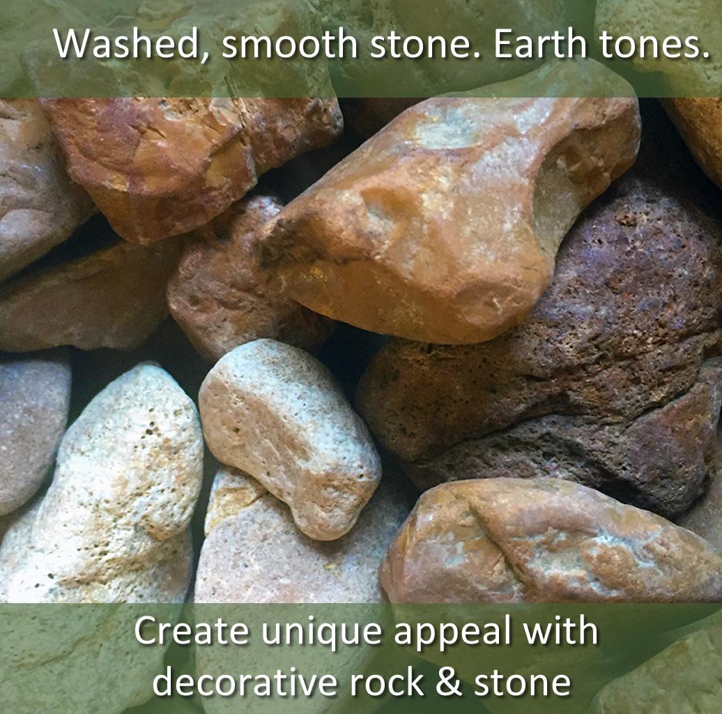 Merrimac stone 1 hopper for Landscape rock delivery near me