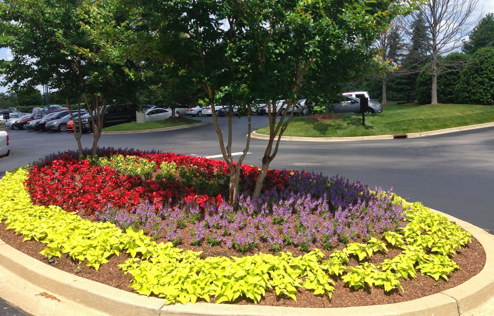 Rock Landscaping Underlayment : Premium all in one plant and flower soil mix hopper